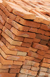 Handmade Bricks Stock Photography