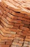Handmade Bricks Stock Photography