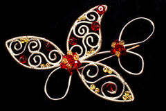 Handmade brooch Stock Image