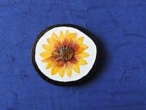 Handmade brooch Stock Images