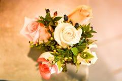 Handmade bukiet z wiosna kwiatami Obraz Stock