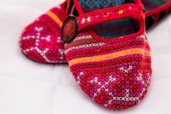 Handmade buty Zdjęcia Stock