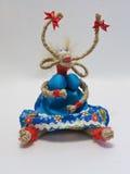 handmade Cabra de trapos y de cuerdas Imagen de archivo