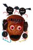 Handmade cakes for Halloween Royalty Free Stock Image