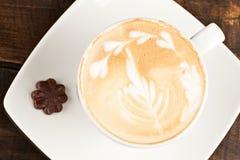 Handmade Cappuccino Coffee Stock Image