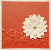 Handmade card design Stock Images