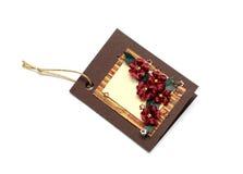 Handmade cards Stock Photography