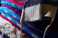 Handmade carpets Stock Photos
