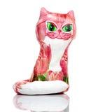 Handmade cat Royalty Free Stock Image