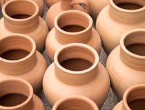 Handmade ceramic clay Stock Image