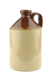 Handmade ceramic jug Stock Photography
