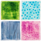 Handmade ceramic tiles Royalty Free Stock Photography