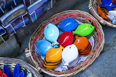Handmade ceramics products in Cinque Terre region, Italy Stock Photography