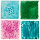 Handmade ceramiczne płytki Obraz Royalty Free
