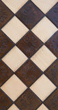 Handmade chessboard Stock Photos