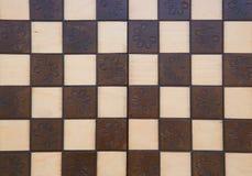 Handmade chessboard Royalty Free Stock Photo