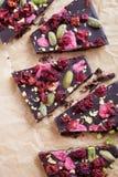 Handmade chocolate Stock Photos