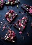 Handmade chocolate Stock Images