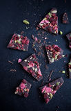 Handmade chocolate Royalty Free Stock Images