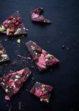 Handmade chocolate Royalty Free Stock Photos