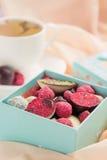 Handmade Chocolate Candy Stock Photo