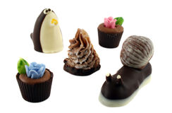 Handmade Chocolates Stock Image