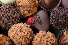 Handmade chocolates Royalty Free Stock Photo