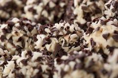 Handmade chocolates ball Royalty Free Stock Photos