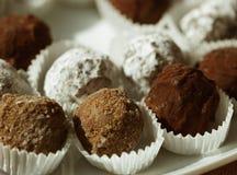 Handmade chocolates Royalty Free Stock Photography