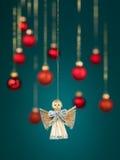 Handmade christmas angel decoration Royalty Free Stock Photo