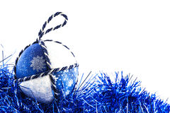 Handmade Christmas Ball Royalty Free Stock Photography