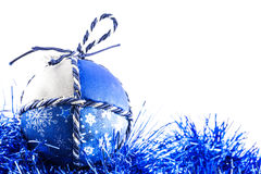 Handmade Christmas Ball Royalty Free Stock Photo