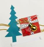 Handmade Christmas card Royalty Free Stock Photos