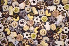 Handmade Christmas Cookies royalty free stock image