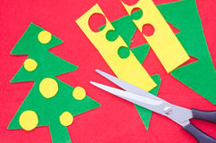 Handmade Christmas decoration Royalty Free Stock Photography