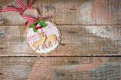 Handmade Christmas decoration Stock Photos