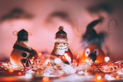 Handmade Christmas decoration Royalty Free Stock Images