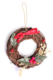 Handmade christmas decoration Stock Image