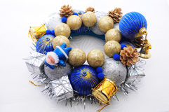 Handmade Christmas Decoration. Handmade and unique new year and Christmas decoration Royalty Free Stock Image