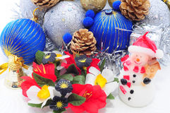 Handmade Christmas Decoration Stock Photo