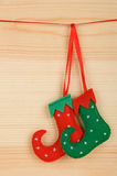 Handmade Christmas decorations Royalty Free Stock Image
