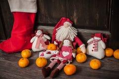 Handmade Christmas toys Stock Image