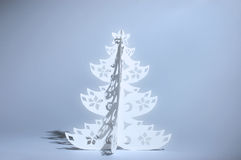 Handmade Christmas tree Royalty Free Stock Image