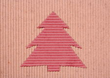 handmade Christmas-tree background Royalty Free Stock Photography
