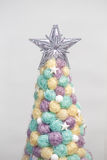 Handmade Christmas tree close up as a background. ! Stock Photography