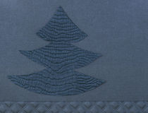 Handmade Christmas tree Stock Photo