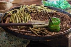 Handmade cigars Stock Photo