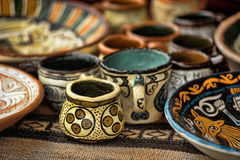 Free Handmade Clay Pots Stock Images - 31696474