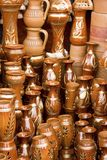 Handmade claypots of Bangladesh Stock Image