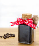 Handmade coffee scrub Stock Photo